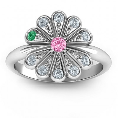 Pretty As A Peacock Ring - Name My Jewelry ™