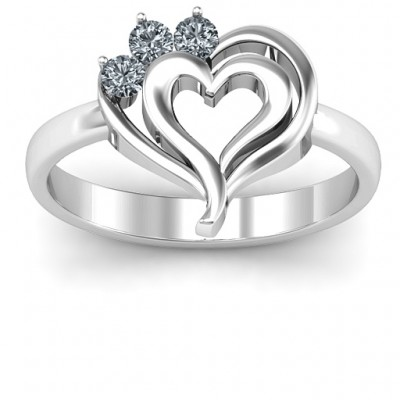 Radial Love Ring - Name My Jewelry ™