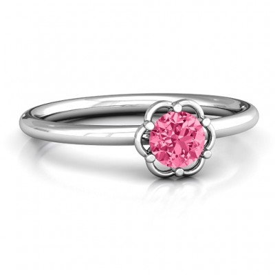 Scarlet Flower Ring - Name My Jewelry ™