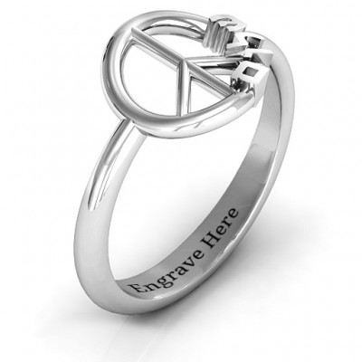Shalom Peace Ring - Name My Jewelry ™