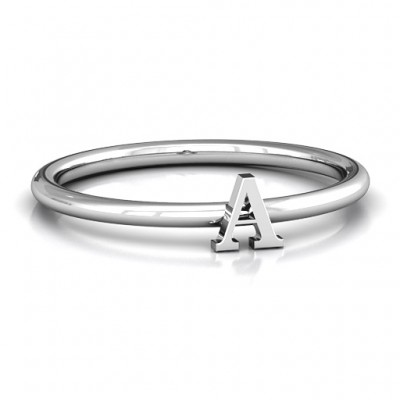 Stackr A-Z Ring - Name My Jewelry ™
