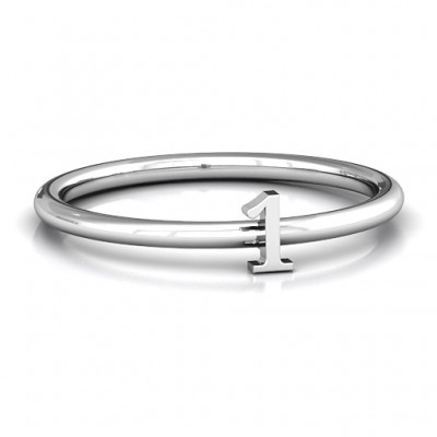 Stackr Number Ring - Name My Jewelry ™