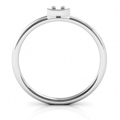 Stackr Symbol Ring - Name My Jewelry ™