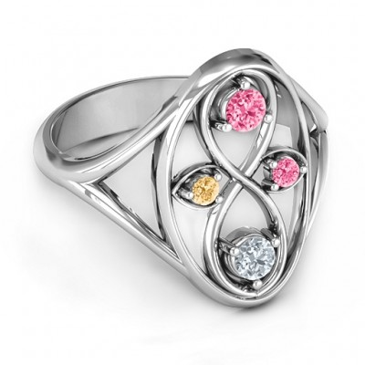 Sterling Silver  Forever Love  Ring - Name My Jewelry ™