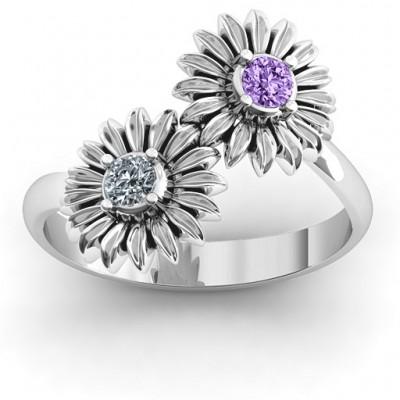 Sun Flowers Ring - Name My Jewelry ™