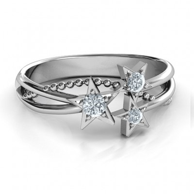 Twinkling Starlight Ring - Name My Jewelry ™