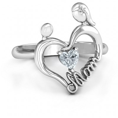 Unbreakable Bond Heart Ring - Name My Jewelry ™