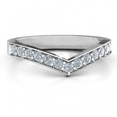 Vanessa Band Ring - Name My Jewelry ™
