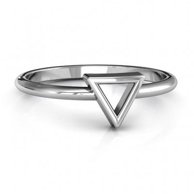 Your Best Triangle Ring - Name My Jewelry ™