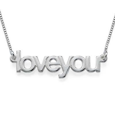 I Love You Necklace - Name My Jewelry ™