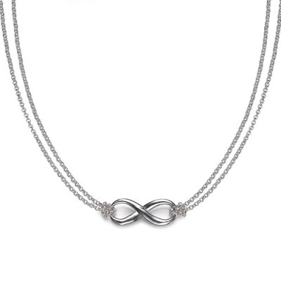 Silver Infinity Necklace - Name My Jewelry ™