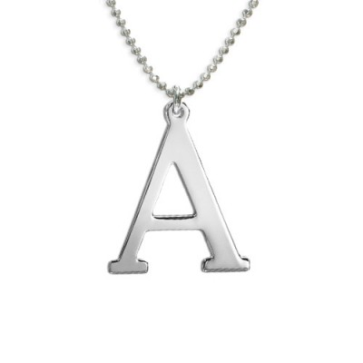 Initials Necklace in Silver - Name My Jewelry ™