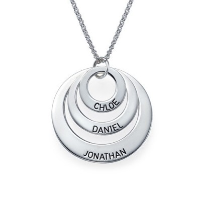 Jewelry for Mums - Three Disc Necklace - Name My Jewelry ™