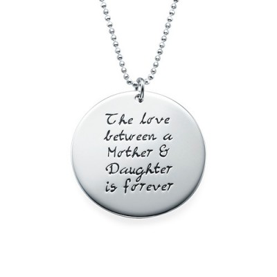 Mother Daughter Gift - Set of Three Engraved Necklaces - Name My Jewelry ™
