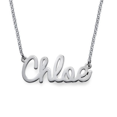 personalized Stylish Name Necklace In Silver/Gold/Rose Gold - Name My Jewelry ™