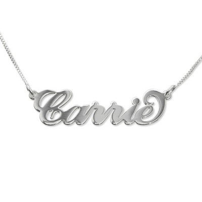 Small Name Necklace - Carrie Style - Name My Jewelry ™