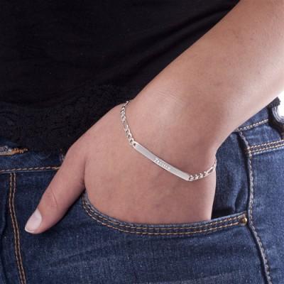 Women's ID Name Bracelet/Anklet - Name My Jewelry ™