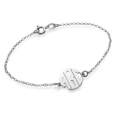 Xtra Small Block Monogram Bracelet/Anklet - Name My Jewelry ™