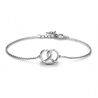 personalized Love Knot Bracelet - Name My Jewelry ™