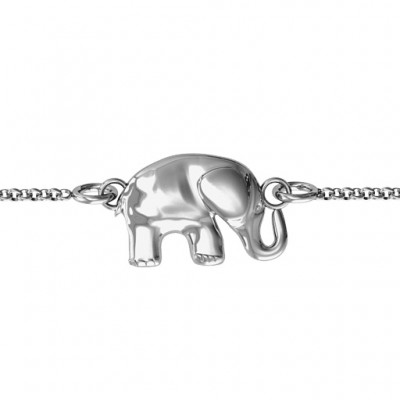 personalized Lucky Elephant Bracelet - Name My Jewelry ™