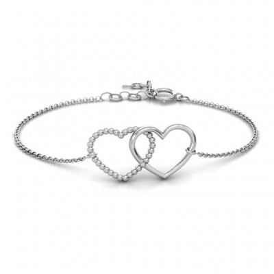 personalized Opposites Attract Bracelet - Name My Jewelry ™