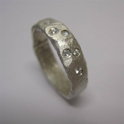 Rocky Outcrop Ring - Name My Jewelry ™