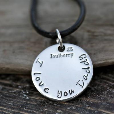 Fingerprint Coin Mens Chain - Name My Jewelry ™