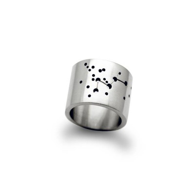 personalized Wide Constellation Ring - Name My Jewelry ™