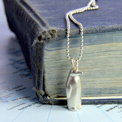 Penguin Necklace - Name My Jewelry ™