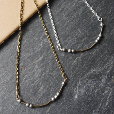 Love Morse Code Necklace - Name My Jewelry ™