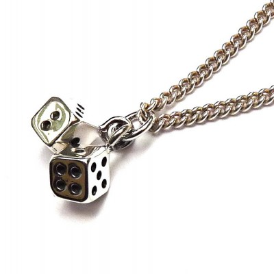 Lucky Dice Necklace - Name My Jewelry ™
