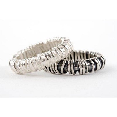 Medium Sterling Silver Ring - Name My Jewelry ™