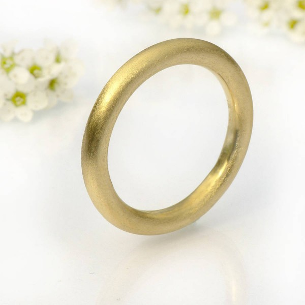 Mens Halo Wedding Ring, 18ct Gold - Name My Jewelry ™