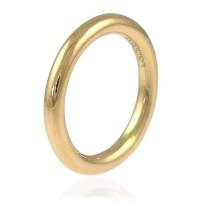 Halo Wedding Ring In 18ct Gold - Name My Jewelry ™