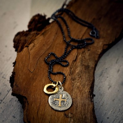 Mens Pieces Of Eight Pirate Necklace - Name My Jewelry ™