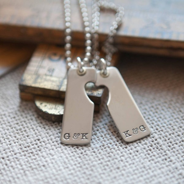 A Pair Necklace - Name My Jewelry ™