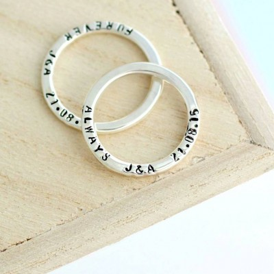 personalized Message Ring - Name My Jewelry ™