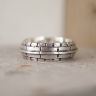 Roof Silver Ring - Name My Jewelry ™
