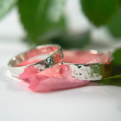 Wedding Bands In Sterling Silver - Name My Jewelry ™